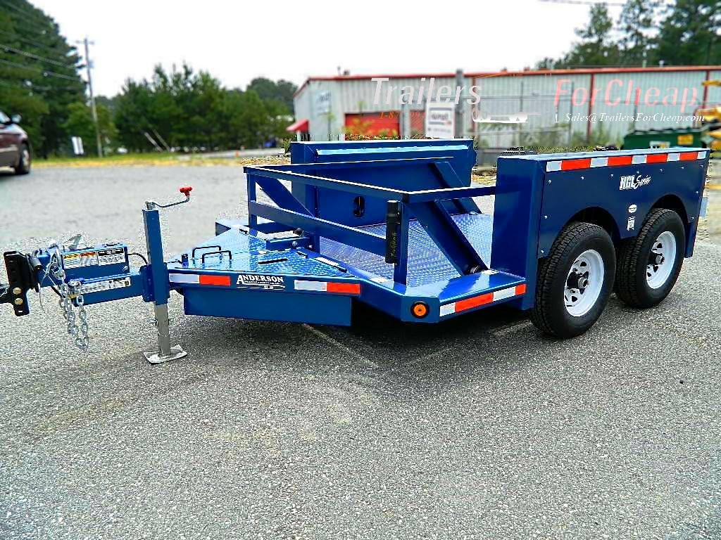 Hydraulic Drop Deck Trailers : Anderson hgl drop deck trailer